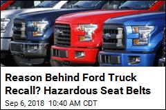 2M Ford F-150 Trucks Recalled Over Seat-Belt Fire Risk
