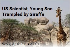 US Scientist, Son Badly Injured in Giraffe Attack