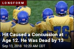 Hit Caused a Concussion at Age 12. He Was Dead by 13
