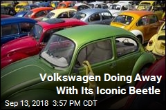 Volkswagen Doing Away With Its Iconic Beetle