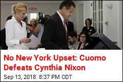 No New York Upset: Cuomo Defeats Cynthia Nixon