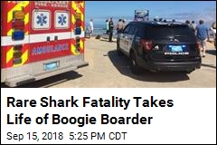 'Right Spot, Wrong Time': Shark Kills Boogie Boarder