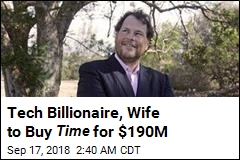 Tech Billionaire, Wife to Buy Time for $190M