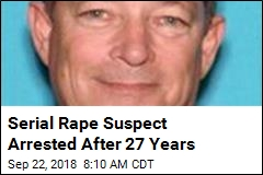 Serial Rape Suspect Arrested After 27 Years