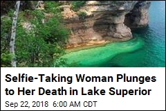 Selfie-Taking Woman Plunges to Her Death in Lake Superior