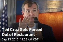 Ted Cruz Gets Forced Out of Restaurant