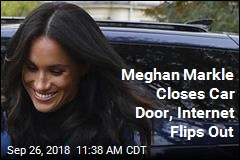 Meghan Markle Closes Car Door, Internet Flips Out