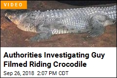 Authorities Investigating Guy Filmed Riding Crocodile