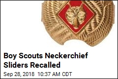 Boy Scouts Issue Recall Over Lead