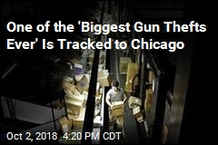 One of the 'Biggest Gun Thefts Ever' Is Tracked to Chicago
