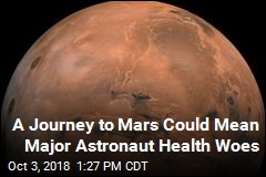 A Journey to Mars Could Mean Major Astronaut Health Woes