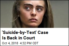 'Texting Suicide' Case Goes Back to Court