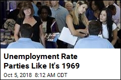 Unemployment Rate Hits Lowest Level Since 1969