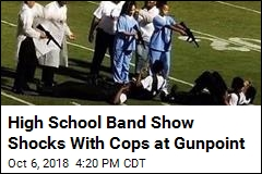 Band Halftime Show Depicts Cops at Gunpoint, Stirs Anger