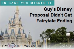 Guy's Disney Proposal Didn't Get Fairytale Ending