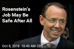 Rosenstein's Job May Be Safe After All
