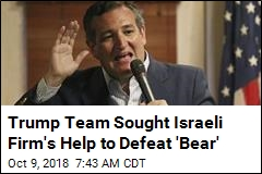 Trump Team Sought Israeli Firm's Help to Defeat 'Bear'