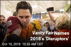 Vanity Fair Names 2018's 'Disruptors'