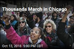 Thousands March in Chicago