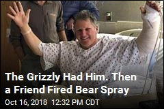 His Bear Spray Went Wrong Way, but Hunter Survives