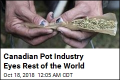 Canadian Pot Industry Eyes Rest of the World