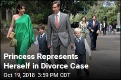 Princess Represents Herself in Divorce Case