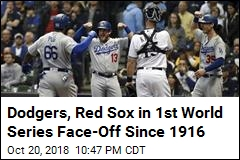 Dodgers, Red Sox Will Face Off in World Series