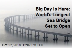 Big Day Is Here: World's Longest Sea Bridge Set to Open
