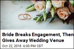 Woman Cancels Wedding, Gives Away Venue to Another Bride