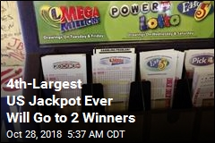 4th-Largest US Jackpot Ever Will Go to 2 Winners
