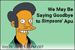 Simpsons May Be Booting Apu