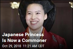 Japanese Princess Is Now a Commoner