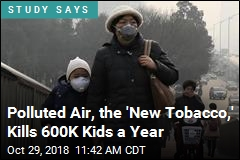 Polluted Air, the 'New Tobacco,' Kills 600K Kids a Year