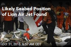 Likely Seabed Position of Lion Air Yet Found