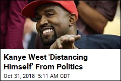 Kanye West 'Distancing Himself' From Politics