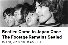 Beatles Came to Japan Once. The Footage Remains Sealed