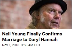 Neil Young Confirms Marriage in Release of Protest Video