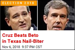 Cruz Beats Beto in Texas Nail-Biter