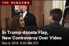 In Trump-Acosta Flap, New Controversy Over Video