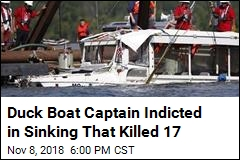 Duck Boat Captain Indicted in Sinking That Killed 17