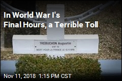 In World War I's Final Hours, a Terrible Toll