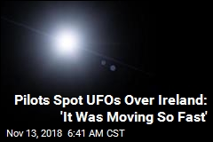 3 Pilots Spot UFOs Off Irish Coast
