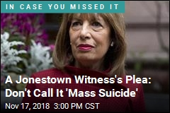 A Jonestown Witness's Plea: Don't Call It 'Mass Suicide'