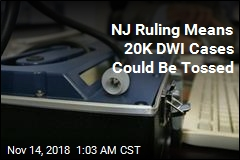 NJ Ruling Means 20K DWI Cases Could Be Tossed