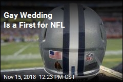 Gay Wedding Is a First for NFL