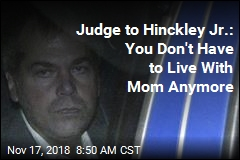 Judge: John Hinckley Jr. Can Move Out on His Own