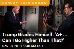 Trump Grades Himself: 'A+ ... Can I Go Higher Than That?'