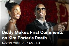 Diddy Makes First Comments on Kim Porter's Death