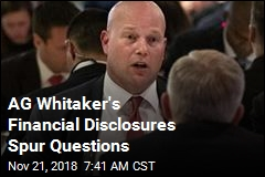 AG Whitaker's Financial Disclosures Spur Questions