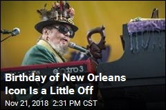 Birthday of New Orleans Icon Is a Little Off